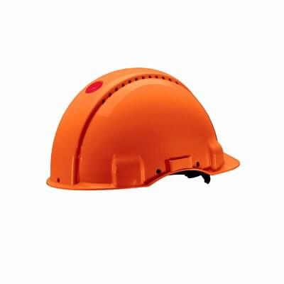 Kaitsekiiver Uvicator, nupust reguleeritav, oranž  G3000NUV-
