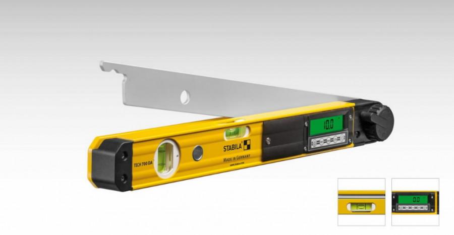 Digital angle finder TECH 700 DA 45cm, Stabila
