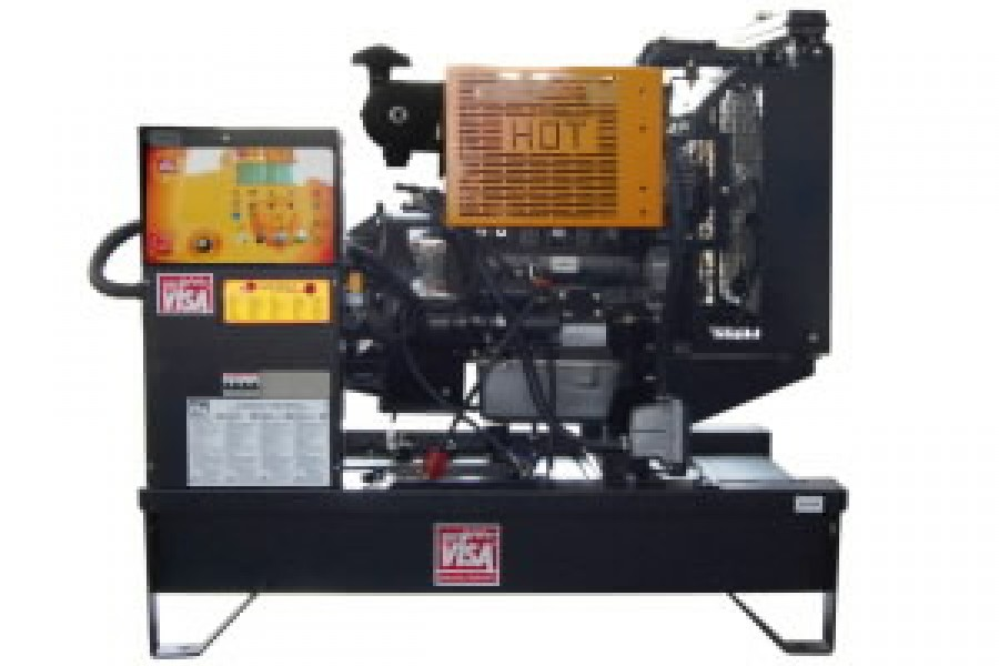 Generator VISA 30 kVA JD30B open manual, Visa -