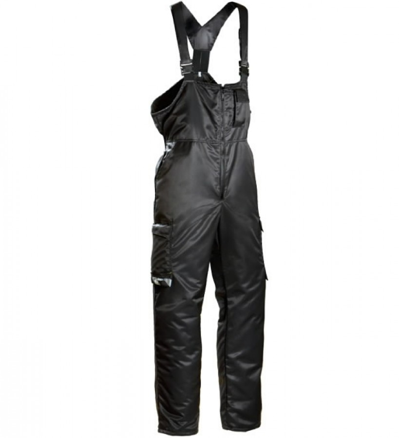 Winter bib-trousers  619 black 58, Dimex