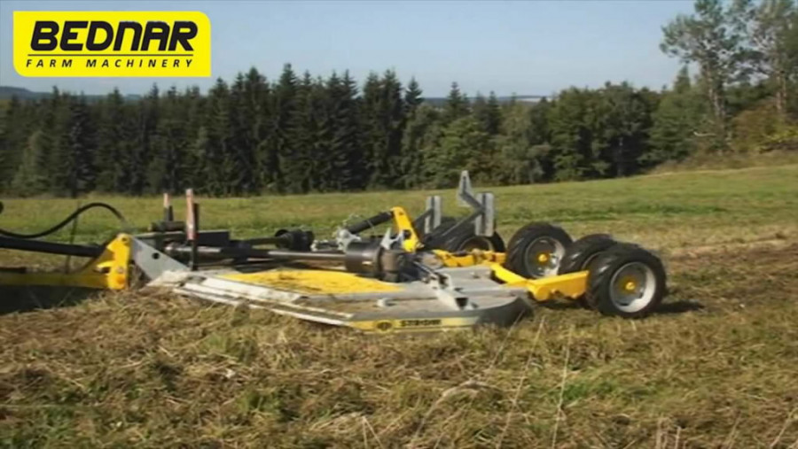 Rotary mower  Mulcher MZ 6000, Bednar