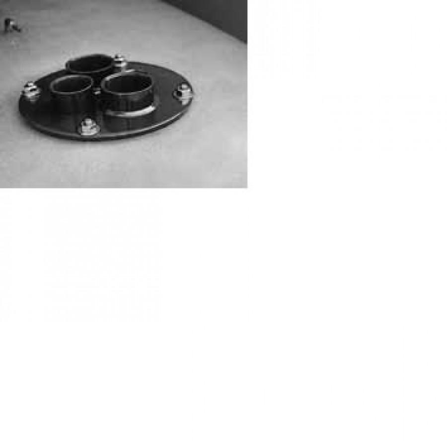 Õlimahuti flants PROFI TANKile (sisekeermega, sirge), Cemo