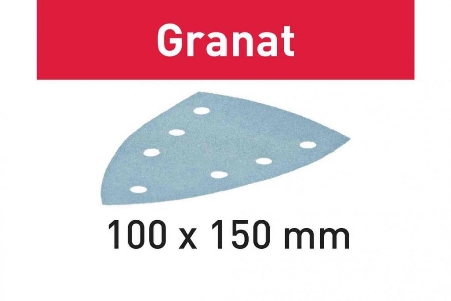 Lihvpaberid GRANAT / Delta 100x150/7 / P80 / 10tk, Festool