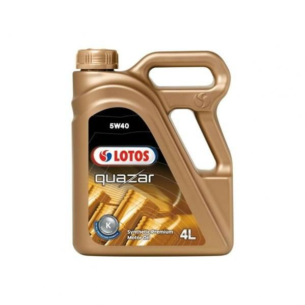 Motor oil QUAZAR 5W40 4L, Lotos Oil