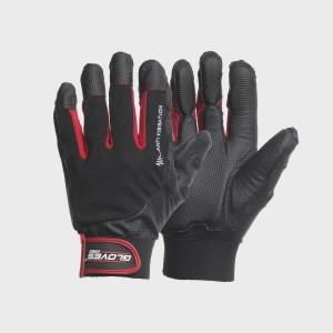 Kindad, vibratsiooni vastased, pehmendused, Black VIBRO 9, Gloves Pro®