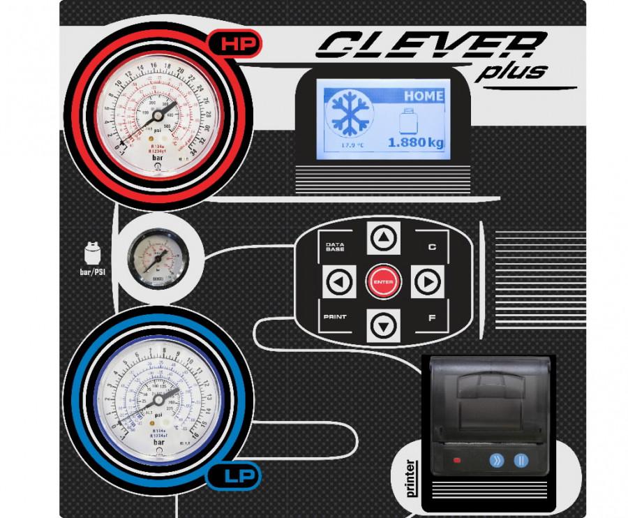 Konditsioneeri hooldusseade Clever PLUS PRN 1234yf, Spin