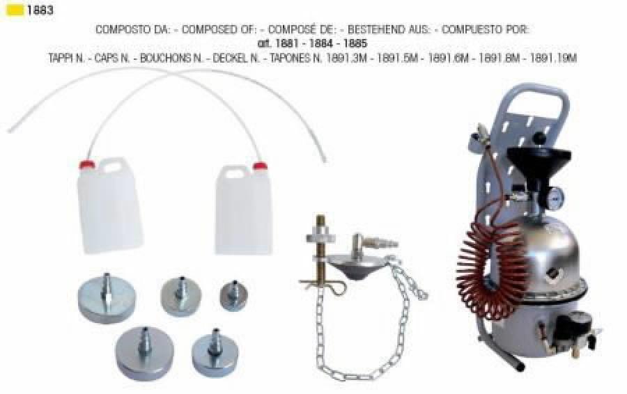 Piduriõli vahetusseade 5L, Intertech