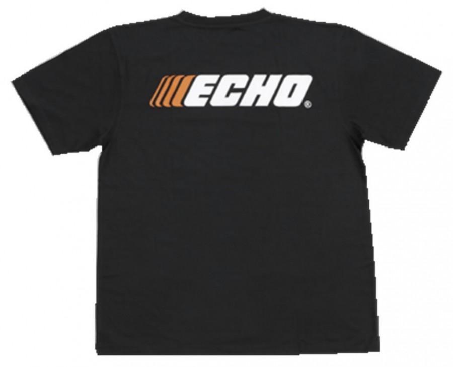 T-särk ,  чёрный, L, ECHO