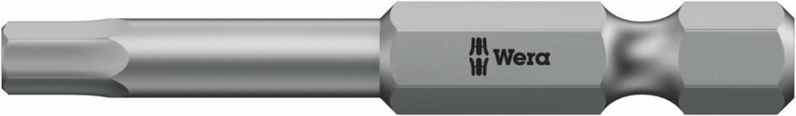 Otsak 1/4´´ 840/4 Z, HEX 3,0x50, Wera