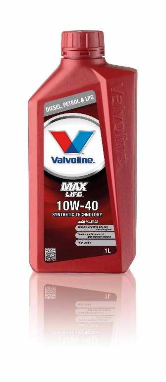 Mootoriõli MAXLIFE 10W40 1L, Valvoline
