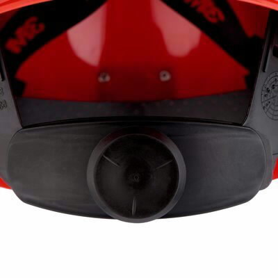 Kaitsekiiver Uvicator, nupust reguleeritav, vent. punane G30