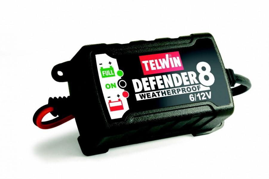 6/12V elektrooniline akulaadija-säilitaja Defender8, Telwin