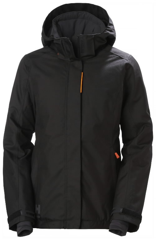 Winter jacket Luna hooded, women, black 2XL, Helly Hansen WorkWear