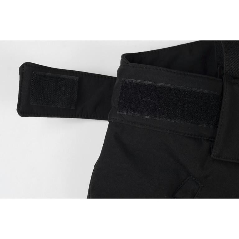 Žieminės softshell kelnės Barnabi, juoda, su  petnešom L, Pesso
