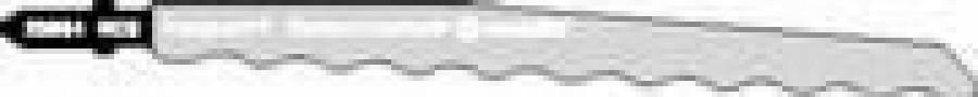 Finierzāģa asmens HCS 126 mm, Metabo