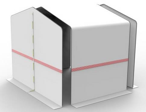 Keevitustelk metallraamiga HD 300x200xK200/240cm, Cepro International BV