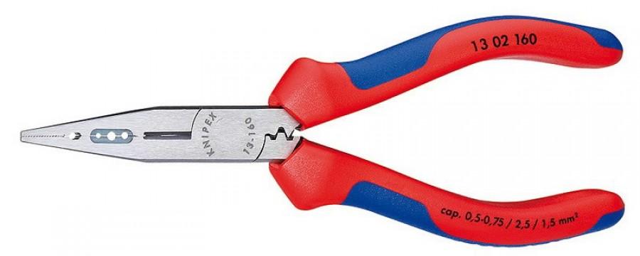 elektrikutangid 160mm 0,5-0,75/1,5/2,5mm2 comfort käepide, Knipex