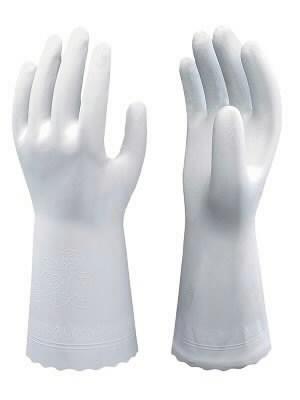 Cimdi, mājsaimniecības, Showa SHB0700, 30 cm, balti 7