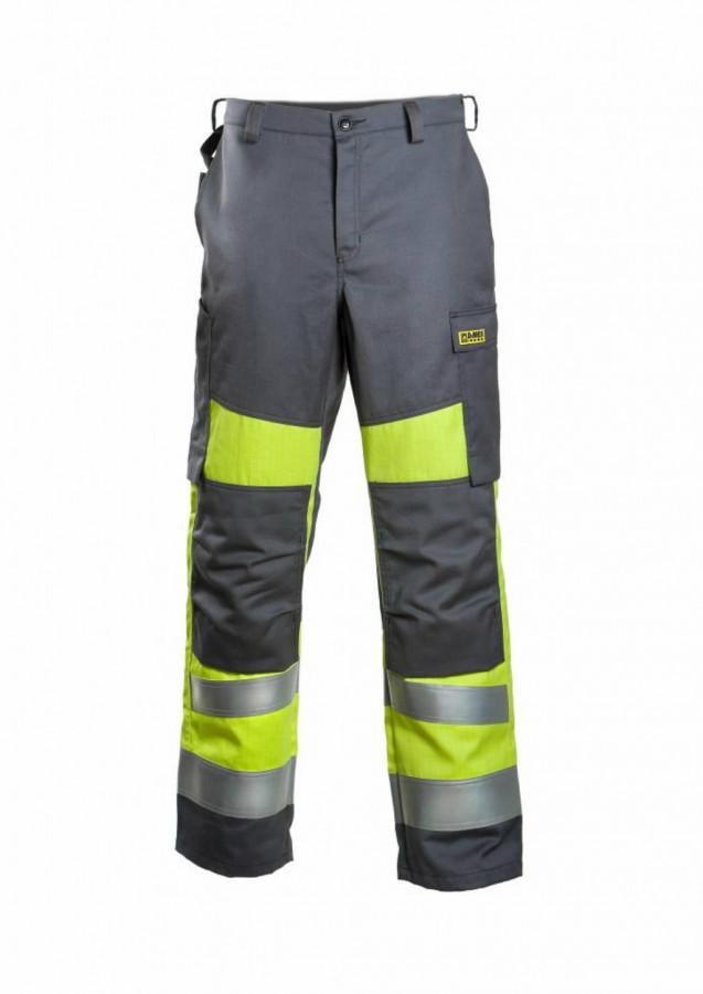Keevitaja/elektriku püksid Multi 6001 kõrgn CL1, koll/hall 46, Dimex