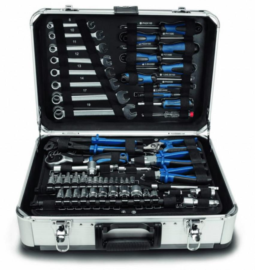 Tööriistakomplekt TB150 kohvris, 101 osaline, Scheppach