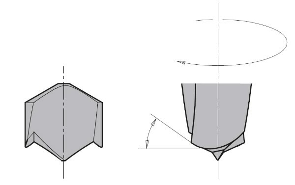 DOWEL DRILL TCT SMG D= 7 X35X70 S=10X30 RH, CMT