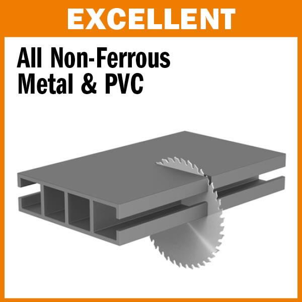Saeketas värv. metallidele 254x3,2x30mm Z80 a=-5° Neg. TCG, CMT