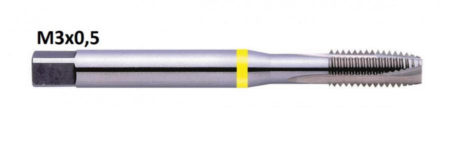 Masinkeermepuur M3x0,5 HSSG-E art.G206, Exact