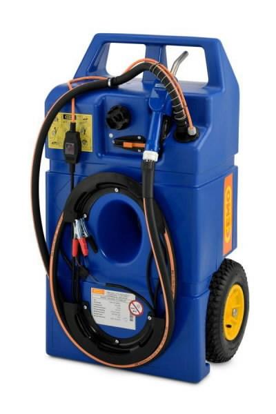 Mobiilne AdBlue mahuti 100L, CENTRI SP30 12V pump, 25L/min, Cemo
