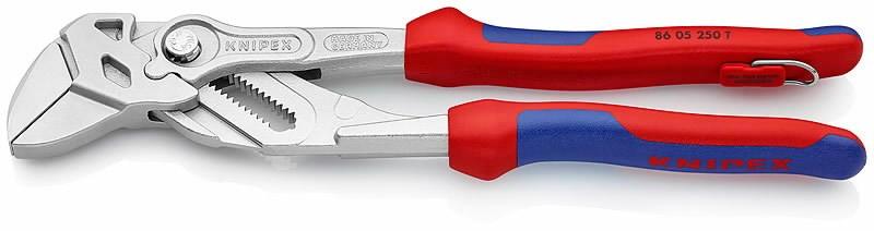 Mutritangid 250mm kuni HEX 46mm comfort käepide konksuga, Knipex