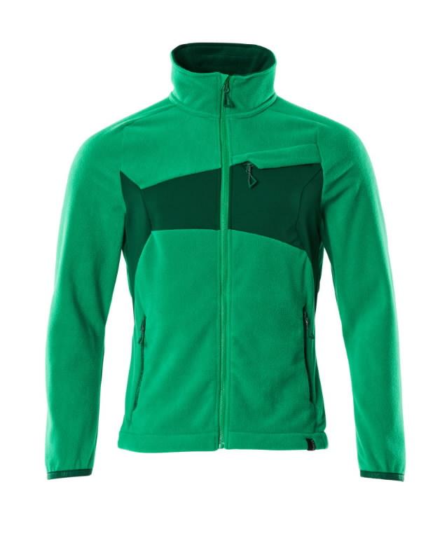 Fliisjakk Accelerate, roheline XS
