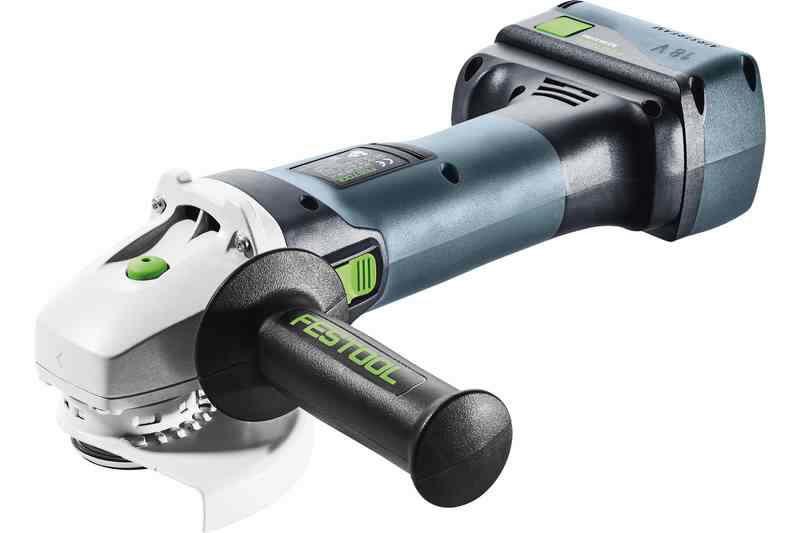 Angle grinder AGC 18-125 BL Li 5,2 Ah EB-Plus, Festool