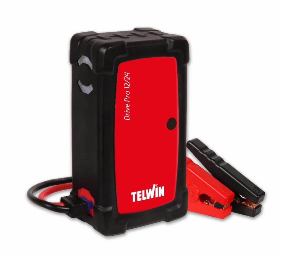 12/24V käivitusabi / akupank Drive Pro 12/24 (Li-Polymer), Telwin