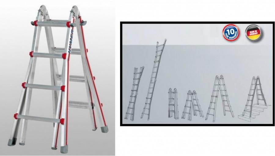 Tелескопическая лестница Telestep, HYMER