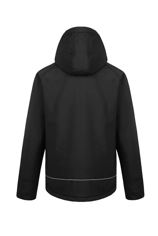 Winter softshell jacket Otava, black 4XL, Pesso