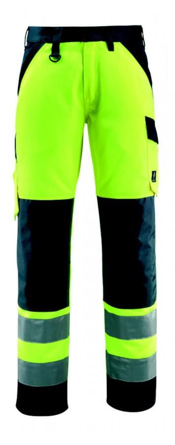Tööpüksid Maitland kõrgnähtav CL2 kollane/t.sinine 82C48, Mascot