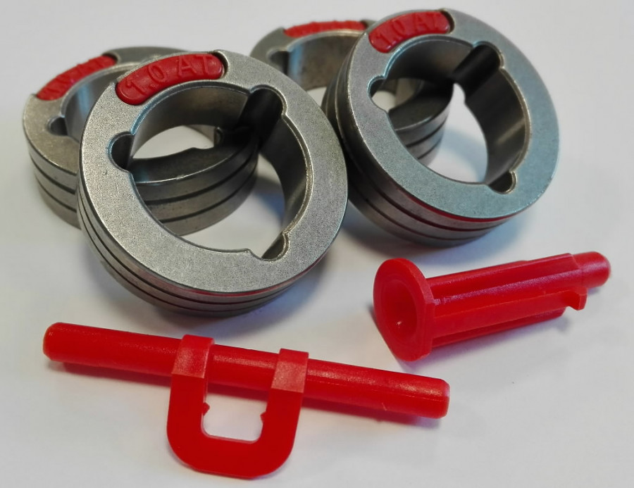 Veorullid PF52/56/PowerteciC-le 4tk (4kmpl) Tä, 1,0-1,2mm, Lincoln Electric