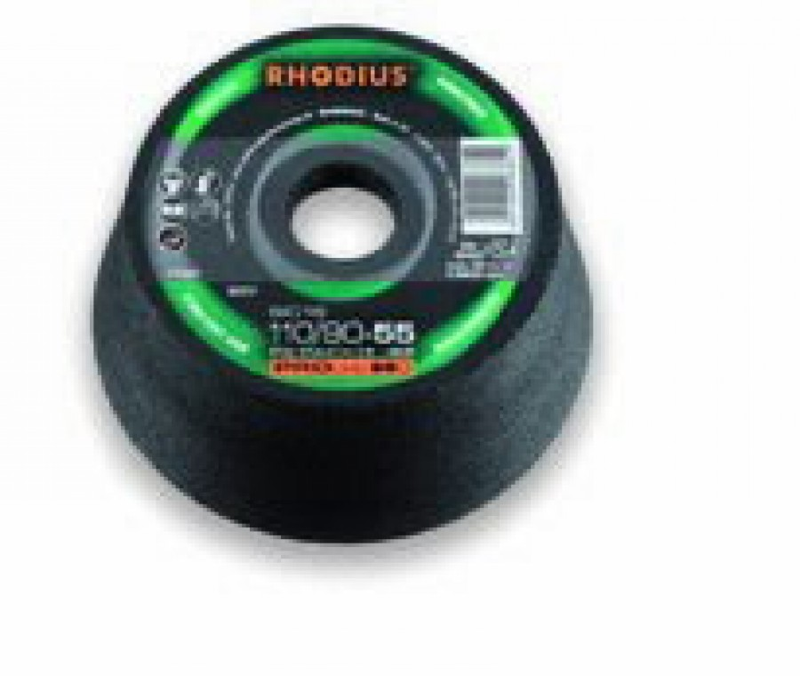 Puodelis akmeniui 110/90x55x22,23 SIC24, Rhodius