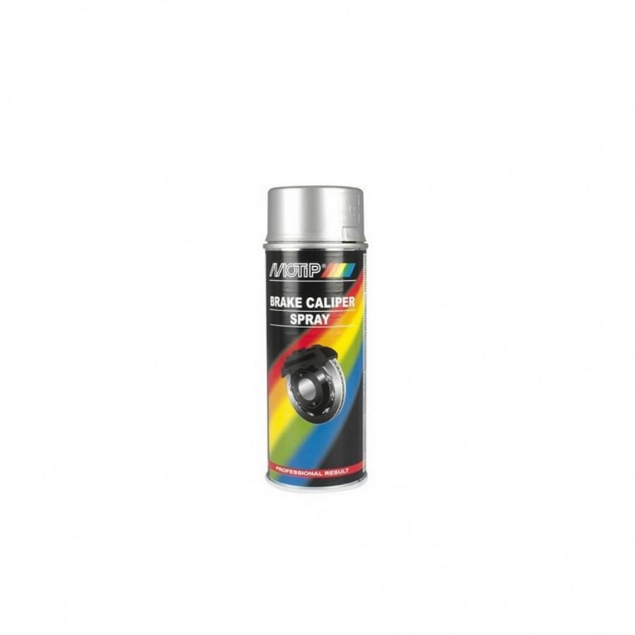 Pidurisadula värv BRAKE CALIPER SPREY hõbe 400ml aerosool, Motip