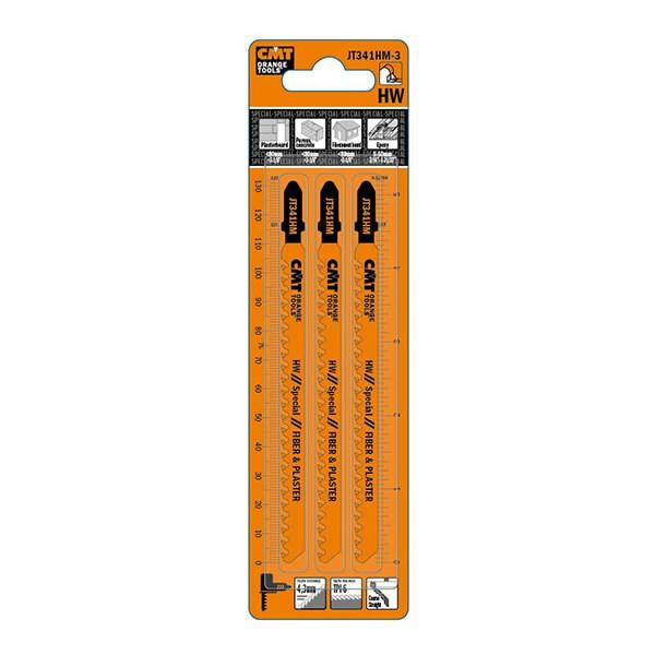 Tikksaeterad plastikule 110x4,3/6TPI HW 3tk pakkis, CMT