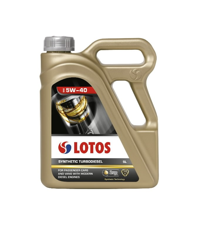Mootoriõli LOTOS SYNTHETIC TURBODIESEL 5W40 5L, Lotos Oil