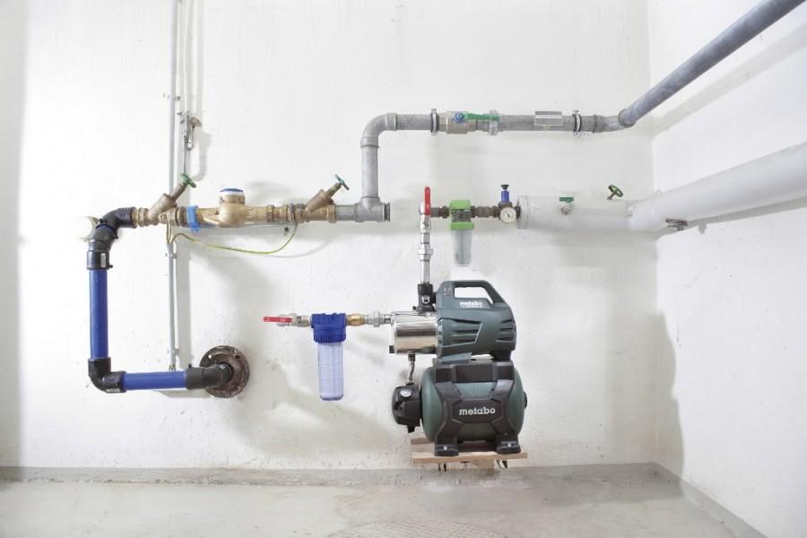 Hüdrooforiga veeautomaat HWW 6000/25 INOX