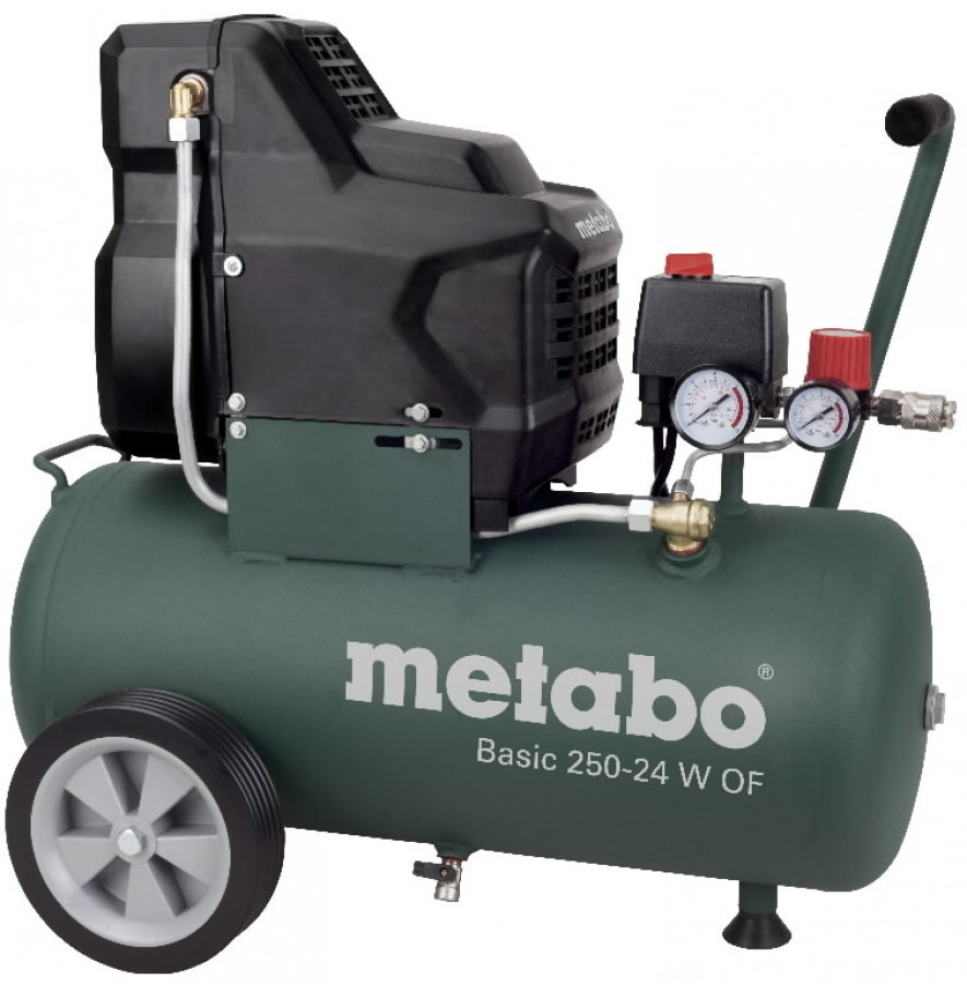 Õlivaba kompressor Basic 250-24 W OF, Metabo
