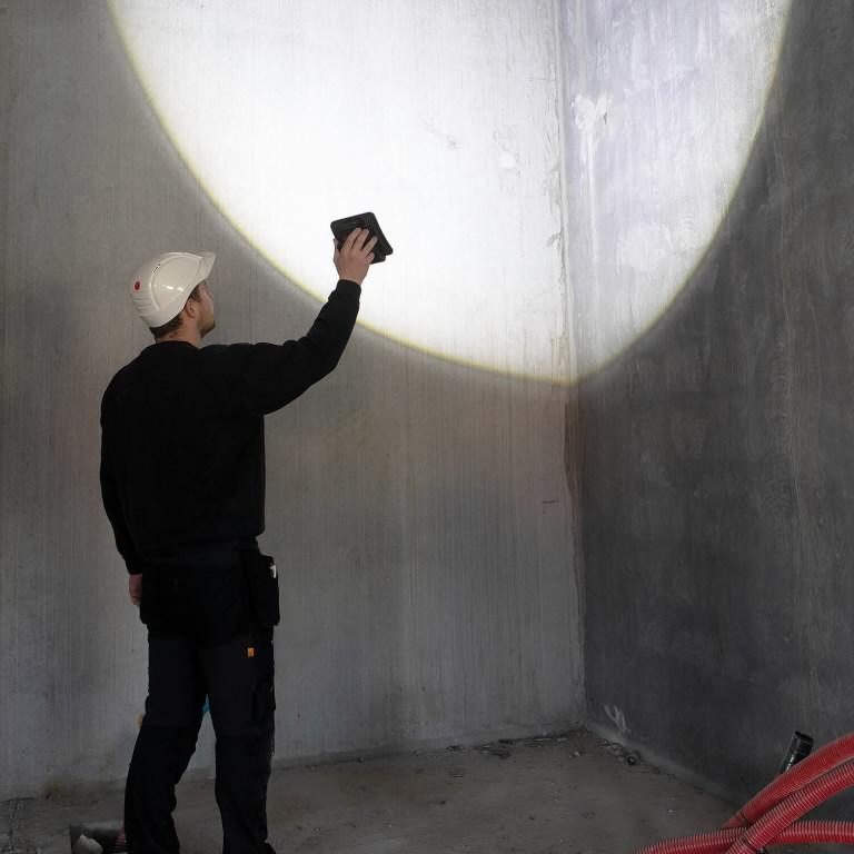 Akuga töövalgusti NOVA2, 2000lm, karkass CAS, Scangrip