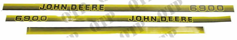 Decal kit JD 6900, Quality Tractor Parts Ltd