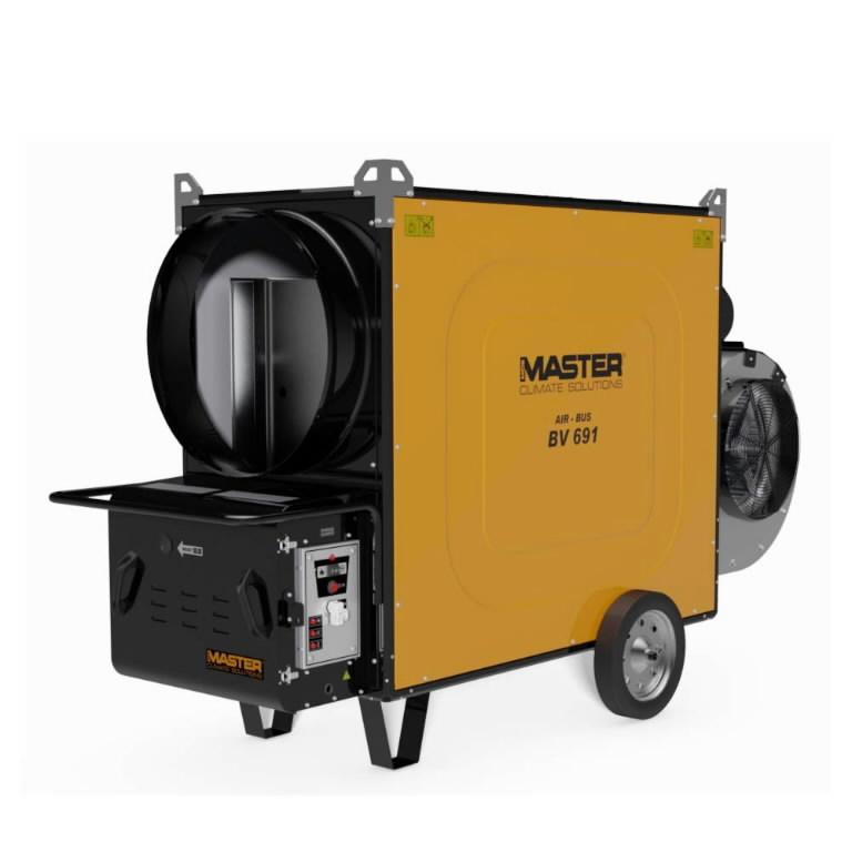 Indirect oil heater BV 691 S, without burner, Master