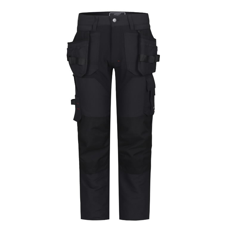 Trousers with holsterpockets Titan Flexpro, grey C48, Pesso