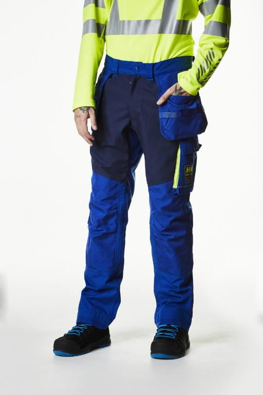 Bikses AKER CONSTRUCTION, zilas C58, Helly Hansen WorkWear