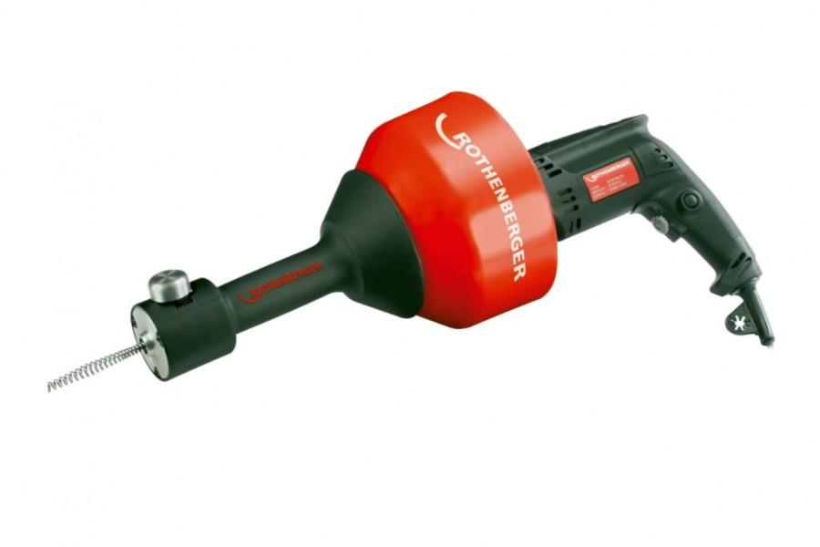 Torupuhastusseade ROSPIMATIC 8mm/7,5m 230V, Rothenberger