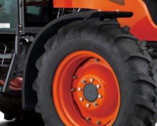 Front Fenders - 380mm wide - to suit loader tractors ON Ag T M6060/7060, Kubota