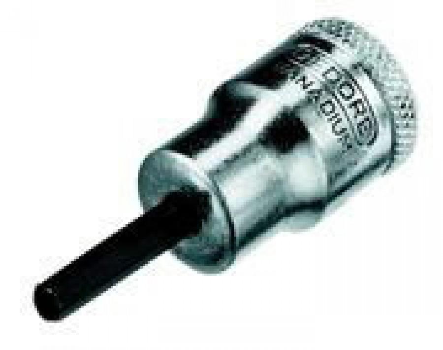 Sisekuuskantpadrun 3/8 8mm L49mm IN30, Gedore